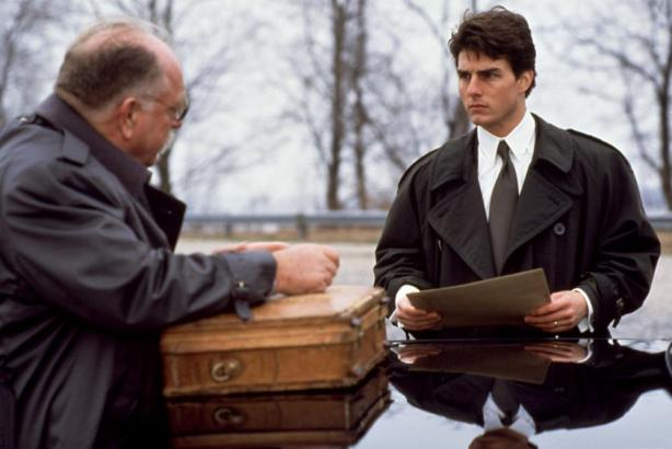 FIRM, THE, Wilford Brimley, Tom Cruise, 1993